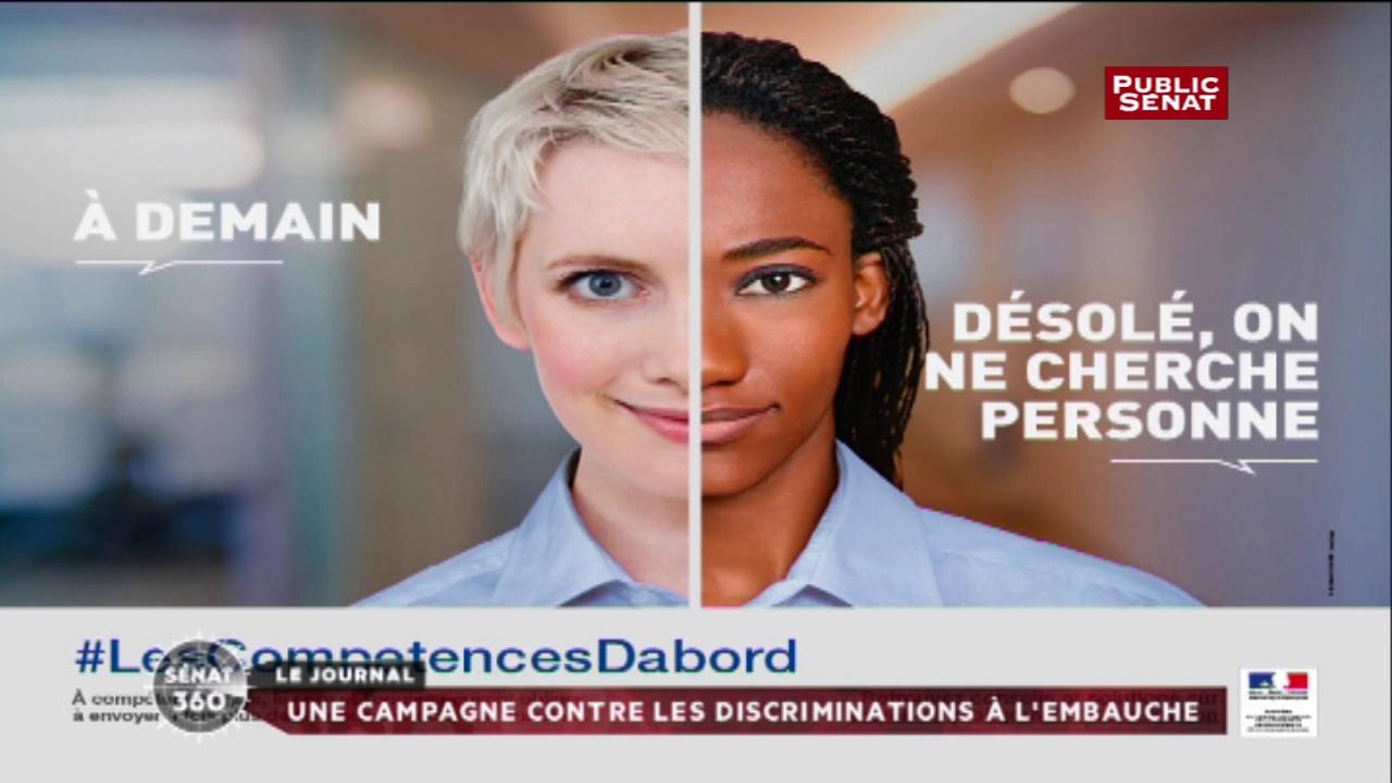 les comp tences d 39 abord le gouvernement lance une campagne contre les discriminations l. Black Bedroom Furniture Sets. Home Design Ideas