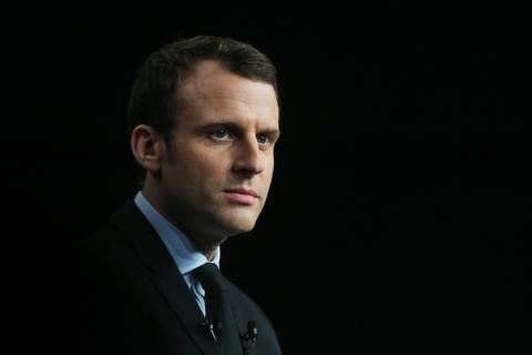 Emmanuel Macron à Reims le 17 mars 2017