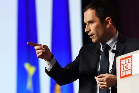 Benoît Hamon a réuni environ 2.000 personnes à Marseille, le 7 mars 2017