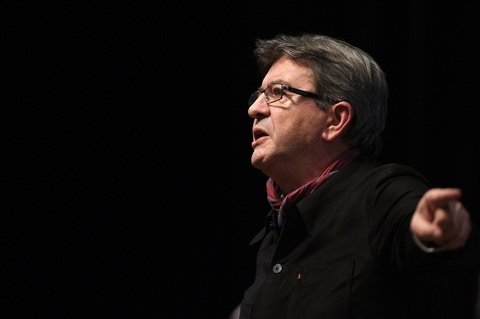 Le candidat à la présidentielle Jean-Luc Mélenchon, le 19 janvier 2017 à Florange