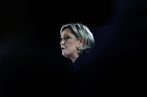 Marine Le Pen à Mirande le 9 mars 2017