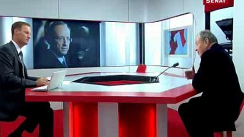 4e5b27b9de1bbe Le conseil de Rocard à Hollande face aux attaques   « Qu il se taise »    Public Senat