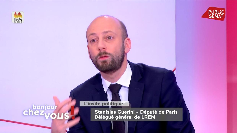 """Municipales : S. Guerini veut """"multiplier par cinq le nombre d'élus"""""""