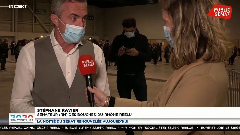 Stéphane Ravier, seul sénateur RN, dans les Bouches-du-Rhône
