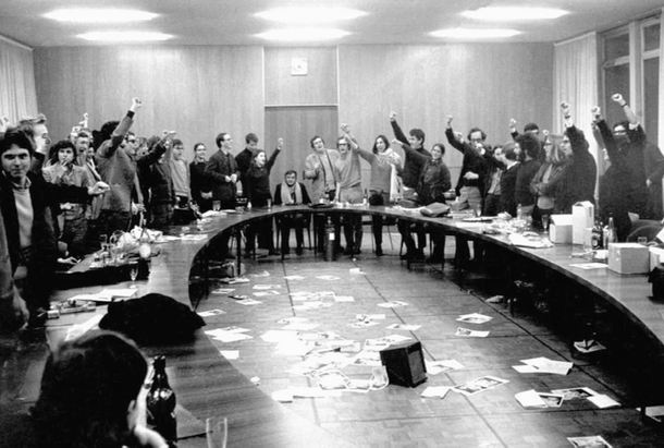 """Image extraite du documentaire """"Mai 68, dans l'œil de la police"""""""