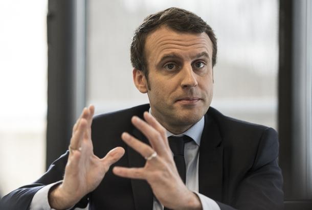 Emmanuel Macron le 7 mars 2017 à Paris