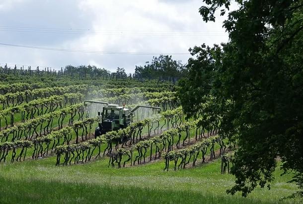 Epandage pesticide