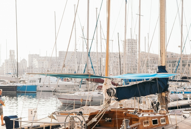 Bateaux port de Marseille