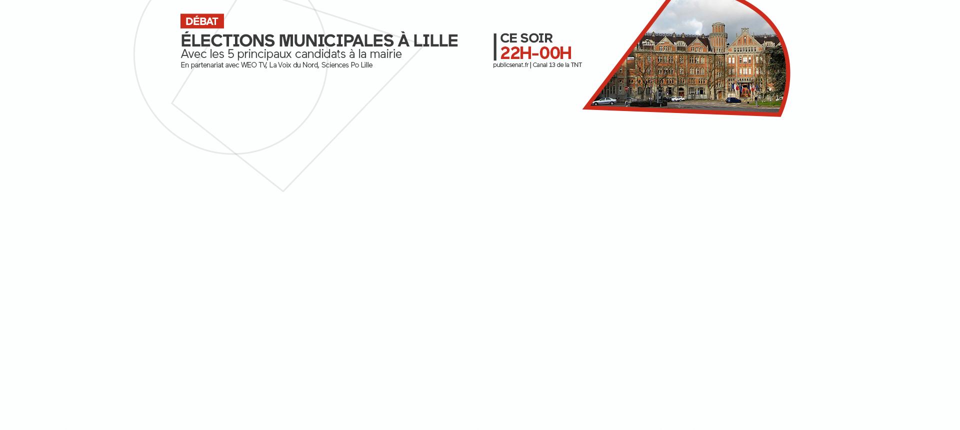Débat municipales Lille