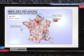 Ma Voix Compte - Le Grand débat s'est-il tenu sur tout le territoire, comme l'a souhaité Emmanuel Macron ?