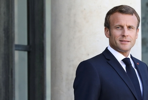 Le président Emmanuel Macron à l'Elysée, le 18 septembre 2019 à Paris