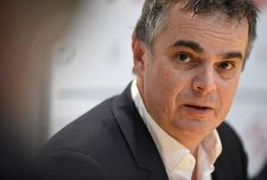 L'écrivain français Alexandre Jardin, le 3 janvier 2017 à Metz