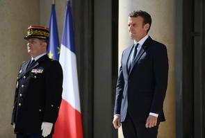 Le président Emmanuel Macron le 12 juin 2017 à l'Élysée