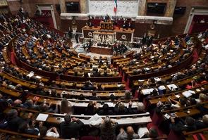 L'Assemblée nationale à Paris, le 27 juin 2017