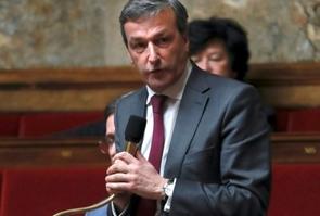 Le député UDI Philippe Vigier, le 29 novembre 2016 à l'Assemblée nationale