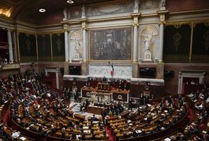 L'Assemblée nationale lors de l'élection de François de Rugy, à Paris le 27 juin 2017