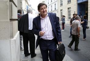 Le sénateur PS du Nord, Patrick Kanner le 24 juin 2017 à Paris