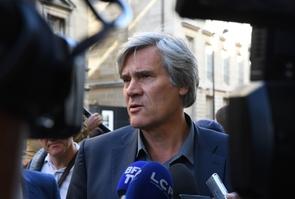 Stéphane Le Foll, le 30 septembre 2017 à Paris