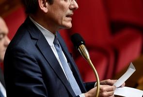 Le député UDI Charles de Courson, le 31 janvier 2017 à l'Assemblée nationale à Paris