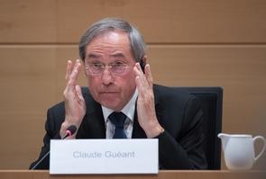 L'ancien ministre de l'Intérieur Claude Guéant, à Bruxelles le 3 mai 2017