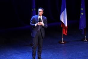 Le député européen La République en Marche Sandro Gozi, alors candidat, le 6 mai 2019 à Paris