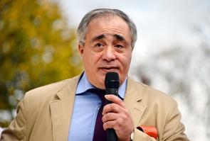 Le président du SIEL Karim Ouchikh le 7 novembre 2016 à Paris
