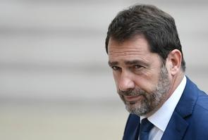 Le porte-parole du gouvernement français Christophe Castaner à Paris, le 18 mai 2017