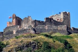 Château de Calmont d'Olt dans l'Aveyron