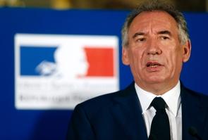 François Bayrou quitte son poste de Garde des Sceaux, à Paris le 22 juin 2017