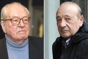 Montage photos : Jean-Marie Le Pen a perdu son procès contre le publicitaire Jacques Séguéla qu'il poursuivait pour l'avoir traité de nazi