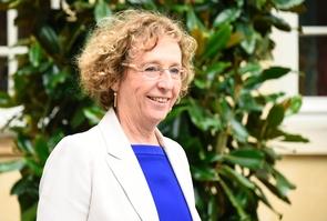 Muriel Pénicaud quitte Matignon à Paris, le 24 juillet 2017