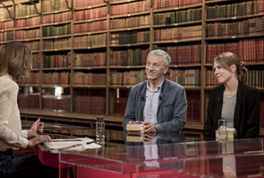 Livres & vous, Jean-Christophe Rufin et Marie Bergstrom autour d'Adèle Van Reeth