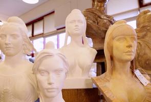 Des bustes sculptées de Marianne