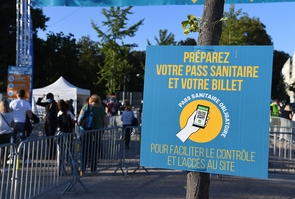 Controle des pass sanitaire
