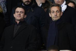 Valls Sarkozy parc des princes