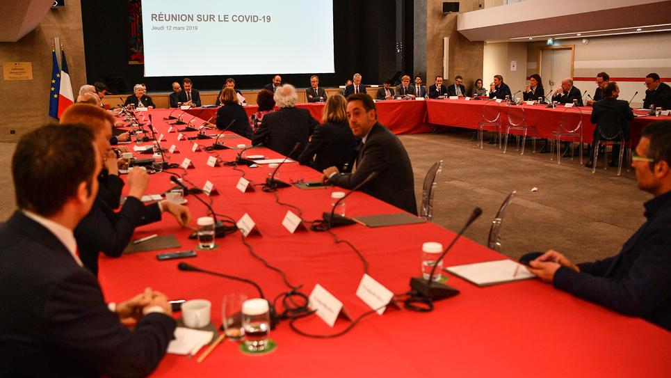 Une nouvelle réunion d'information sur le Covid-19