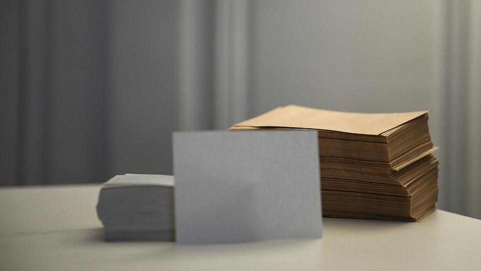 Bulletin blanc
