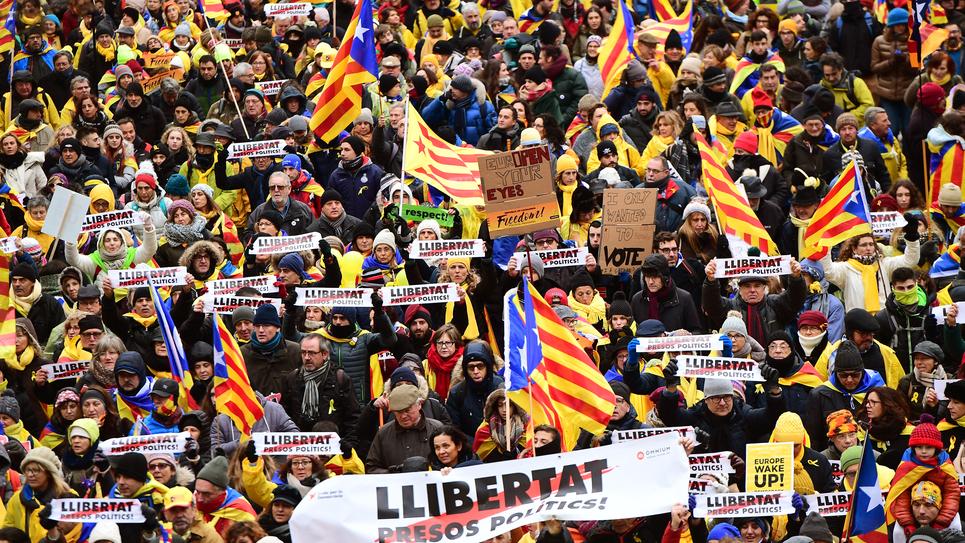 Manifestations Catalogne