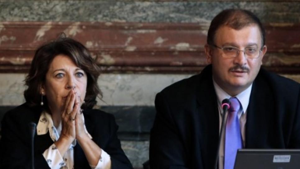 Corinne Lepage et Gilles-Eric Séralini