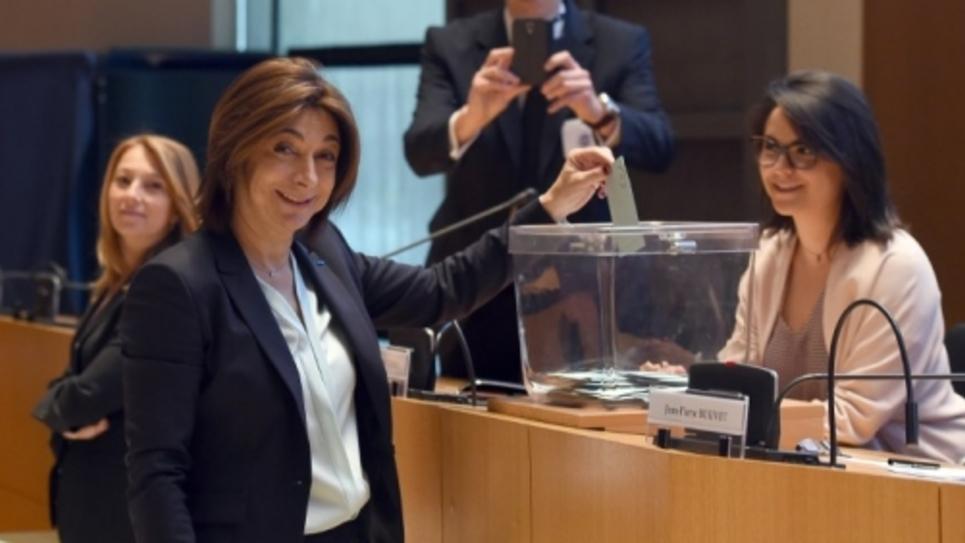 Martine Vassal, nouvelle présidente des Bouches-du-Rhône est une des rares femmes présidentes de départements.