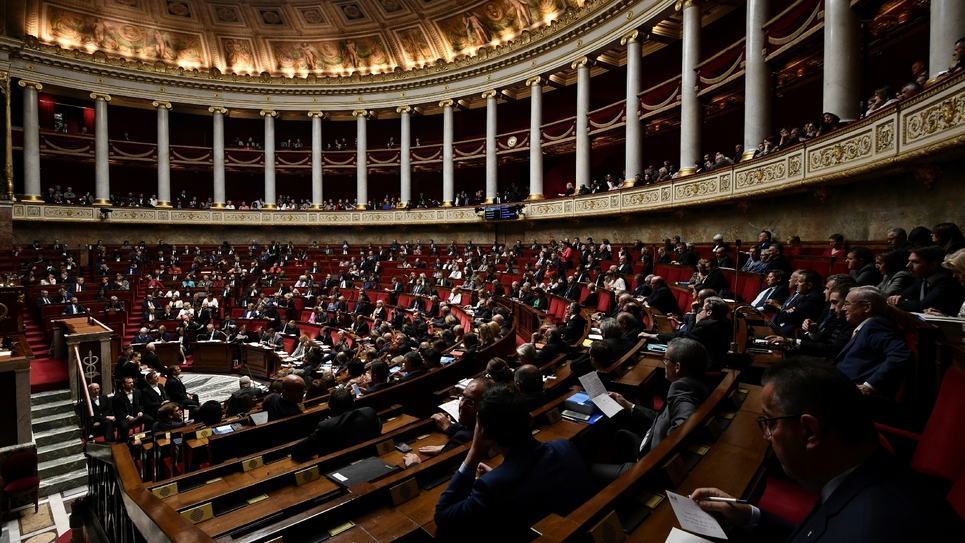 L'Assemblée nationale, située à Paris, le 26 septembre 2018