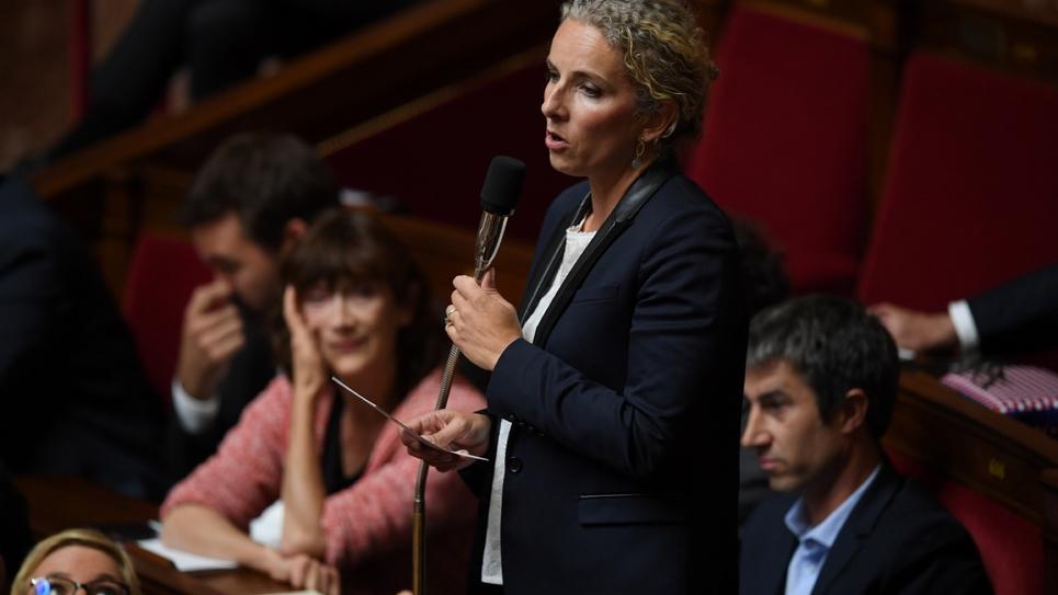 La députée des Deux-Sèvres Delphine Batho (Génération Ecologie) à l'Assemblée nationale à Paris, le 2 octobre 2018