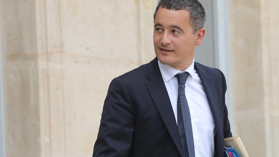 Gérald Darmanin, ministre de l'Action et des Comptes publics, sortant du Conseil des ministres qui s'est tenu au Palais de l'Élysée le 5 septembre 2018.