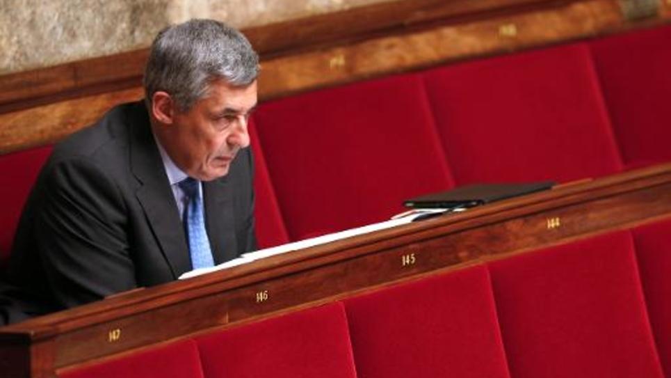 Le député UMP Henri Guaino à l'Assemblée Nationale, le 3 juin 2014 à Paris
