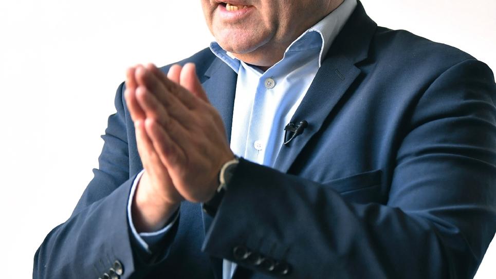 Le président de la région des Hauts-de-France Xavier Bertrand, le 20 février 2019 à Lille