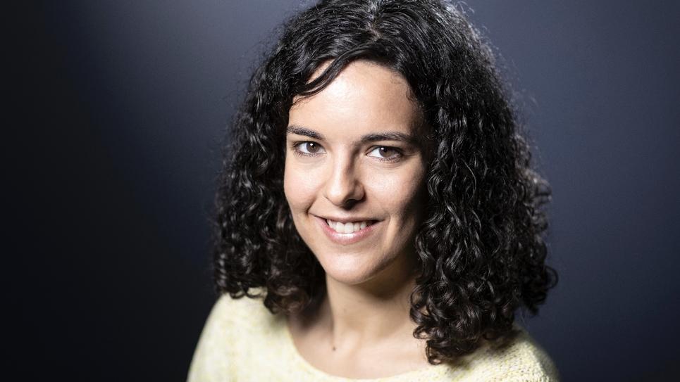 Manon Aubry photographiée à Paris le 9 janvier 2019