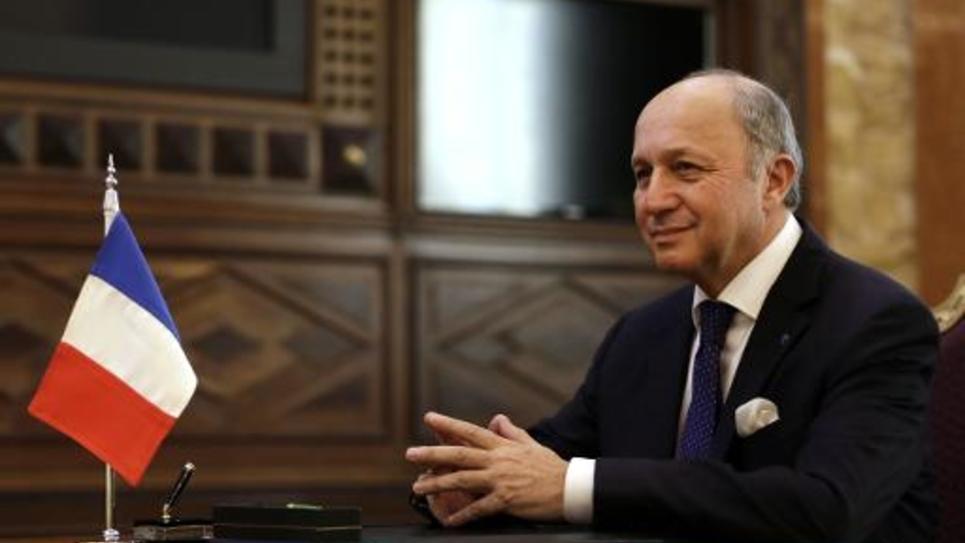 Le ministre français des Affaires étrangères, Laurent Fabius, le 29 décembre 2013 à Ryad, en Arabie Saoudite