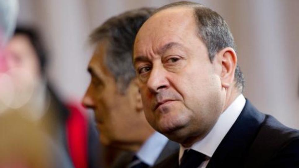 L'ancien directeur central du renseignement intérieur, Bernard Squarcini, le 17 janvier 2012 à Paris