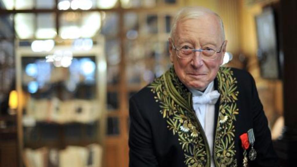 Le musicien William Christie, qui perd le soutien financier de la ville de Caen, photographié le 27 janvier 2010 à Paris