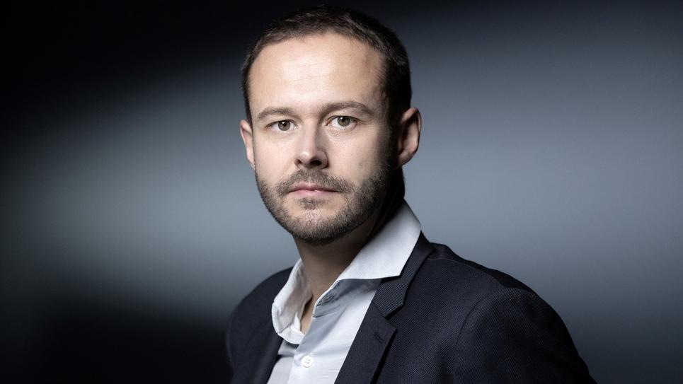 Le candidat d'EELV pour les municipales 2020 à Paris David Belliard pose le 9 octobre 2019 à Paris